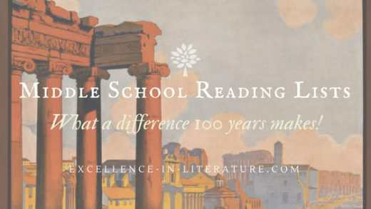 Middle school reading lists: What a difference 100 years makes!