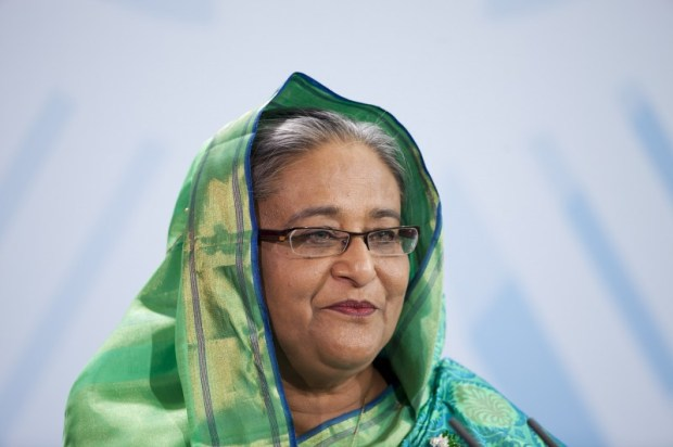 Bangladeshi Prime Minister Sheikh-Hasina