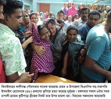 Jhenidah BNP Leader Killed_04
