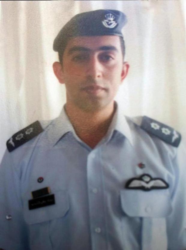 Jordanian pilot Lieutenant Mu'ath al-Kaseasbeh captured by ISIS