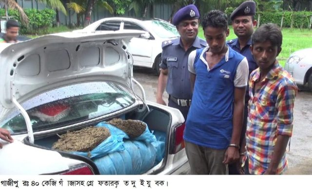 Gazipur-(1)- 07 July 2016-Two Youth Arrest