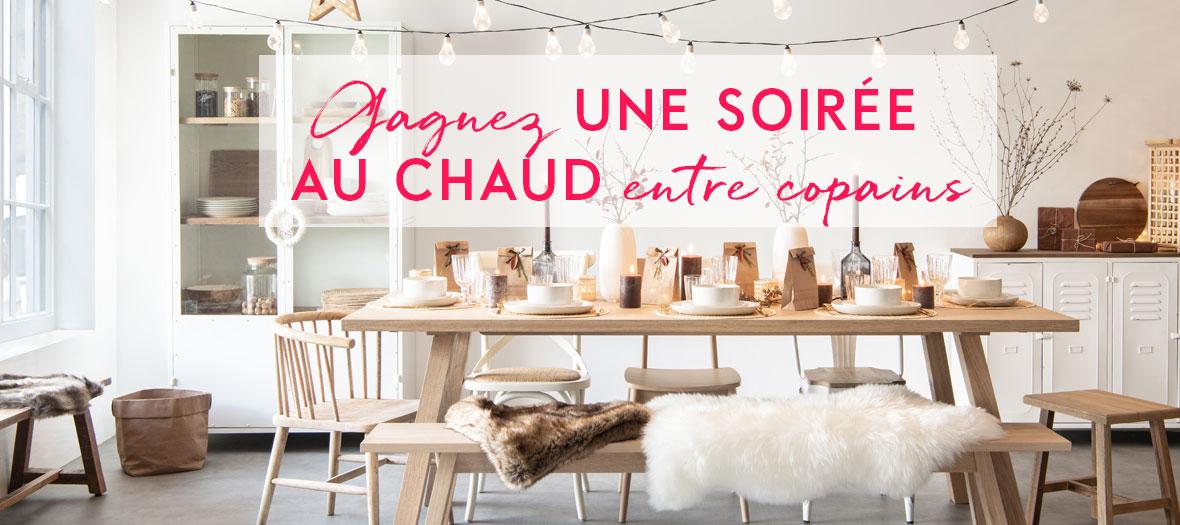 maisons du monde manages your holiday