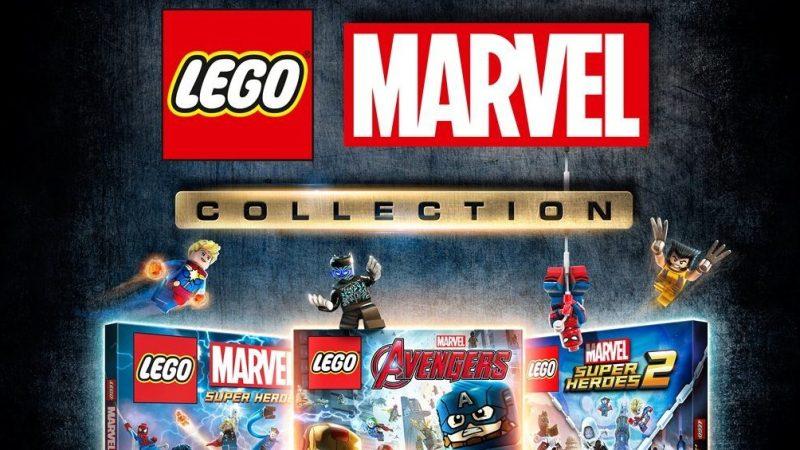 LEGO: il cofanetto di videogiochi con i supereroi Marvel