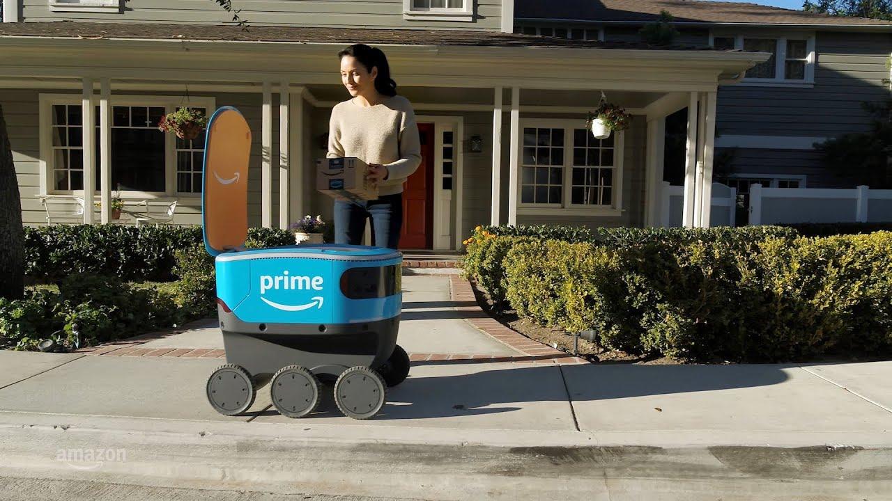 Amazon – Arriva il nuovo robottino postino, sarà il futuro delle consegne?