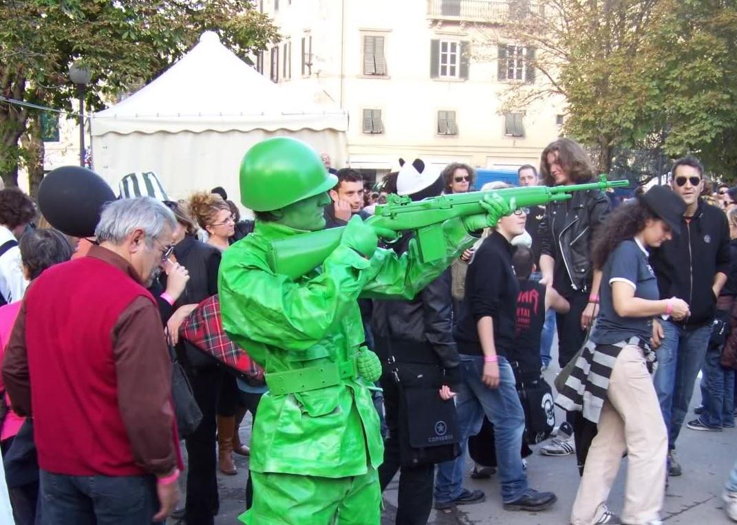 Il perfetto cosplay del Toy Soldier