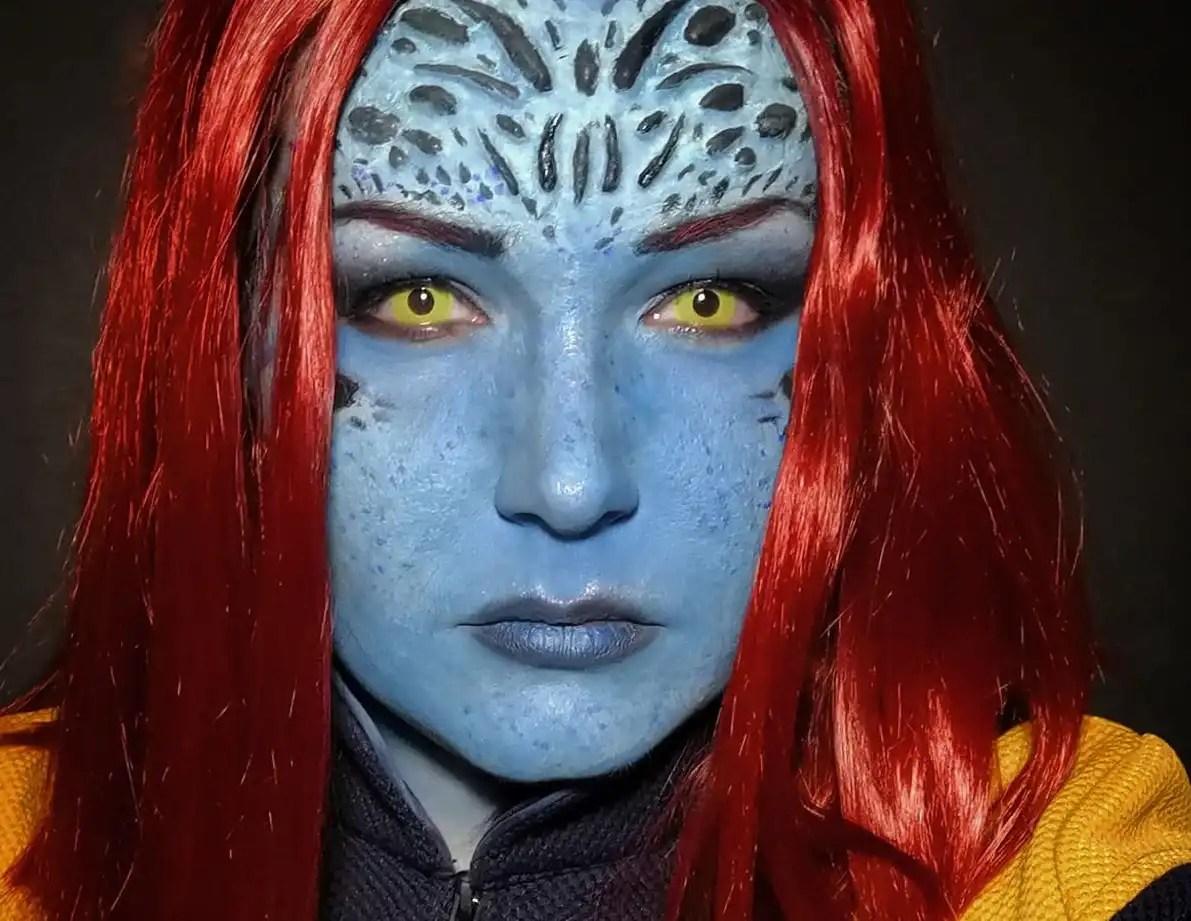 Un cosplay di Mystica molto ben fatto