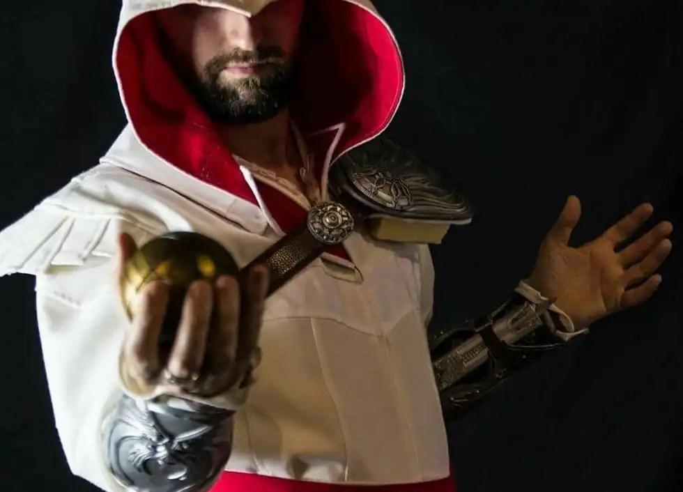 Ezio Auditore, un cosplay di Andrea Scattolin