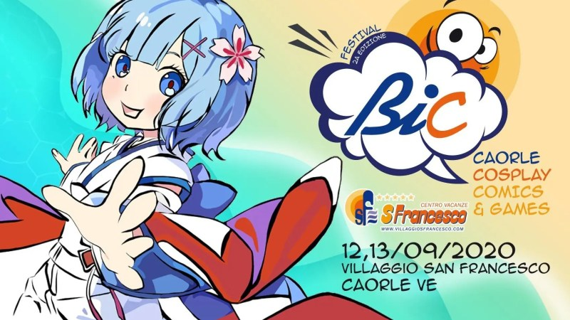 A Caorle il BIC – Cosplay, Comics & Games dedicato all'universo cosplay, gaming e nerd!