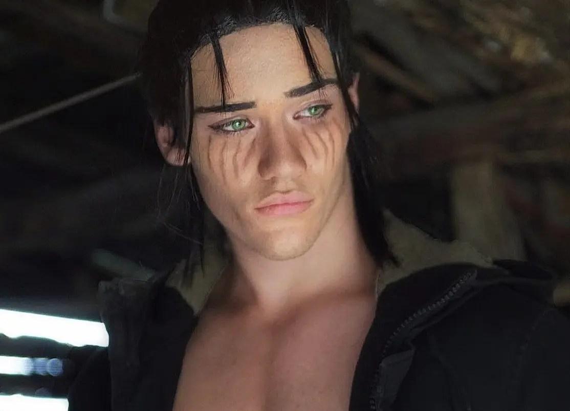 Il cosplayer Edoardo Volpi è Eren Yeager dal manga L'attacco dei giganti!