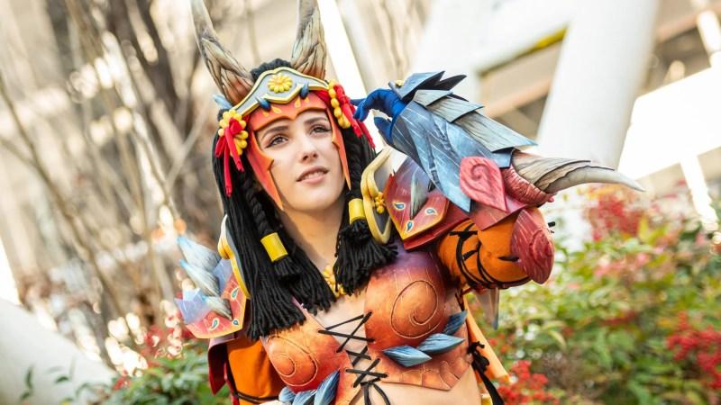 Dall'universo di Monster Hunter ecco le eccellenti armor di Lilit Cosplay!