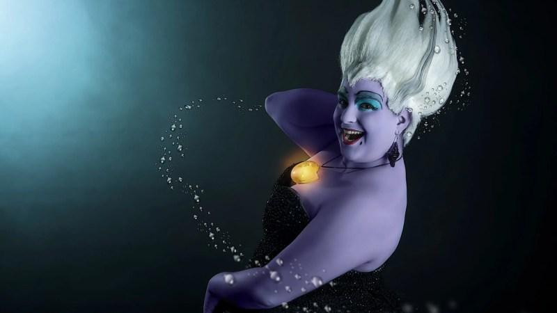 Da La sirenetta ecco la malvagia Ursula, interpretata dalla cosplayer Sara Siviero!