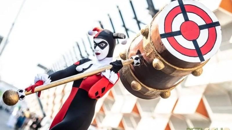 La mitica Harley Quinn della serie animata è interpretata dalla cosplayer Camilla Pini!