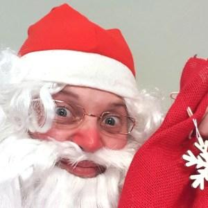 Fabrizio Marchegiani è un dolcissimo Babbo Natale!