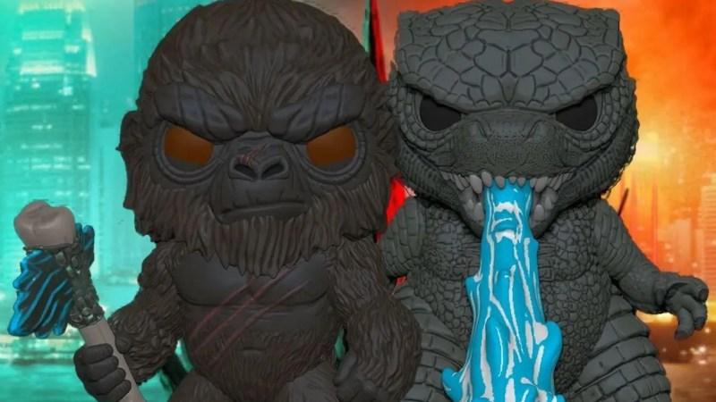 In arrivo i Funko di Godzilla vs. Kong!