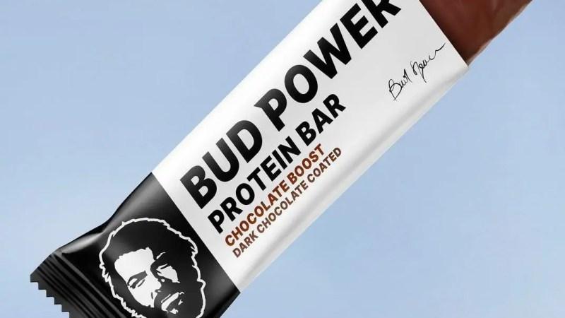 Una carica di energia con le barrette di Bud Spencer!
