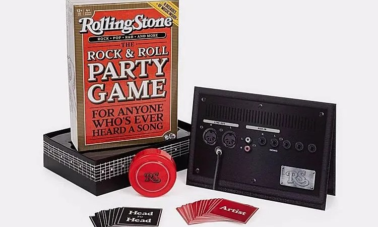 Rolling Stones Rock & Roll Party Game, il gioco da tavolo a suon di musica!