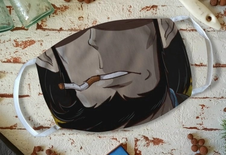 Ecco qualcosa di unico nel suo genere, la mascherina di Jigen!
