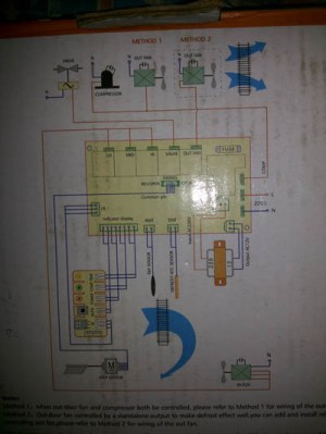 Air conditioner Indoor Blower Fan Motor Wiring on
