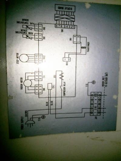 air conditioner indoor blower fan motor wiring on universal
