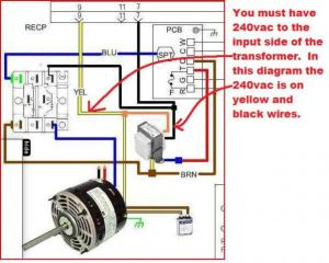 X13 ECM to PSC Blower Motor Conversion  Page 3
