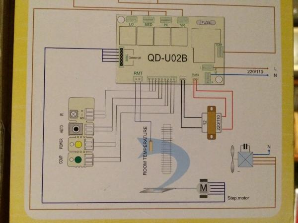 60773d1451509034 air conditioner indoor blower fan motor wiring universal pcb img_2063?resize=600%2C450&ssl=1 carrier air conditioner fan motor wiring diagram wiring diagram  at eliteediting.co
