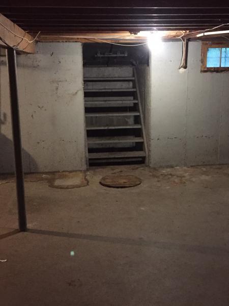 Basement Interior Door To Bilco Entrance Doityourself