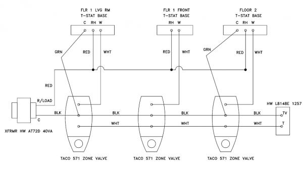 wiring diagram for taco zone valves 571 2 readingrat net taco zone valve wiring 571 Wiring Taco Zone Valve Single taco zone valve wiring