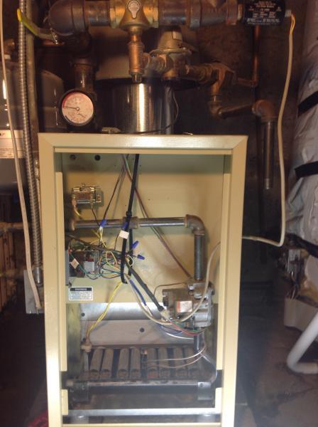 Weil Mclain Cga Gas Fired Boiler Wont Fire