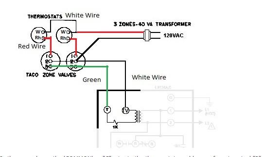 adding a common wire to a slant fin v120ep/l8148e