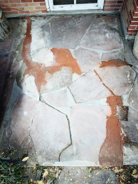 flagstone patio repair the motion patio