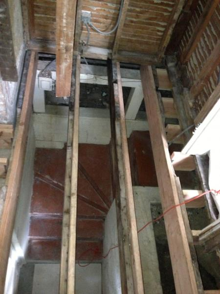 Weird Bathroom Remodel In Old House Doityourself Com