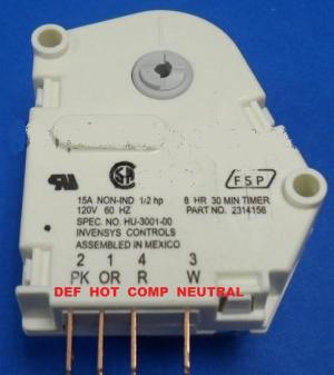 Whirlpool refrigerator defrost timer issue  DoItYourself
