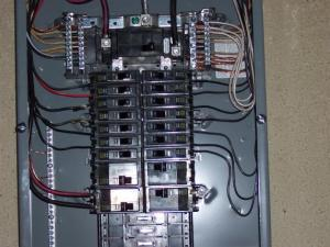 Is #8 wire overkill for a sub panel with 15 amp breakers