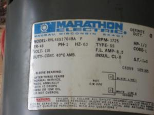 Marathon 12 hp electric motor  DoItYourself