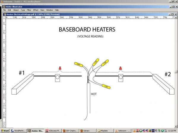 electric baseboard heaters wiring diagram wiring diagram electric baseboard heat installation wiring location