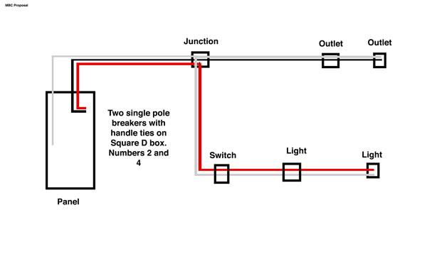 3 Phase Electrical Circuit Diagram