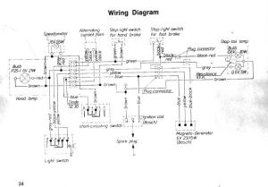 Moped wiring diagramwhat's this resistor for?  DoItYourself Community Forums