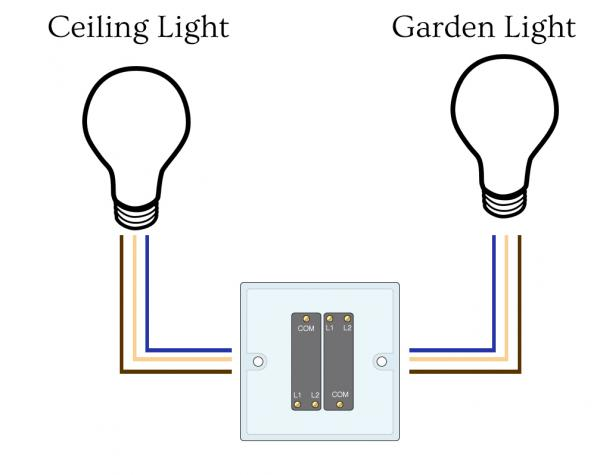 electrical double switch wiring diagram the wiring electrical wiring home double pole switch diagram maker