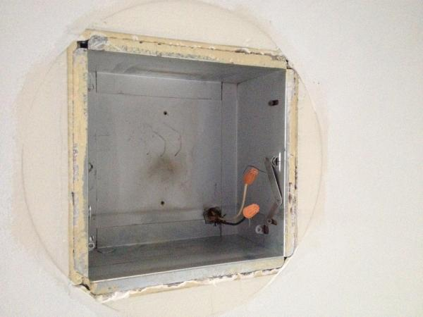 replacing old 1950s recessed lights