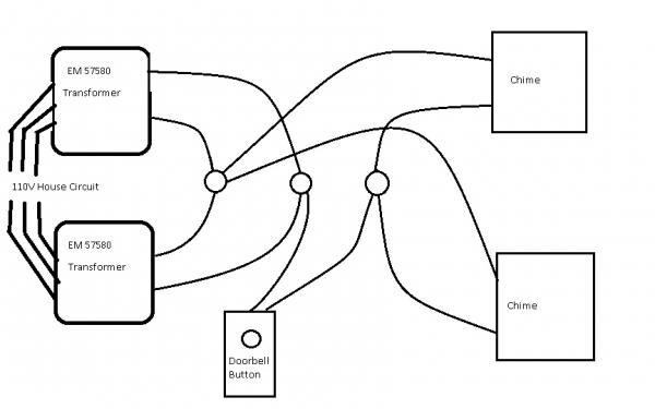 Byron Doorbell Transformer & Wiring Diagram For Doorbell
