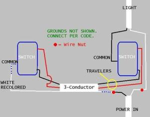 Confused on 3way switch wiring  DoItYourself Community Forums