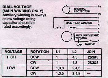 70807d1473726733 emerson electric motor wiring help motcon2?resized350%2C253 single phase dual voltage motor wiring diagram efcaviation com single phase dual voltage motor wiring diagram at readyjetset.co