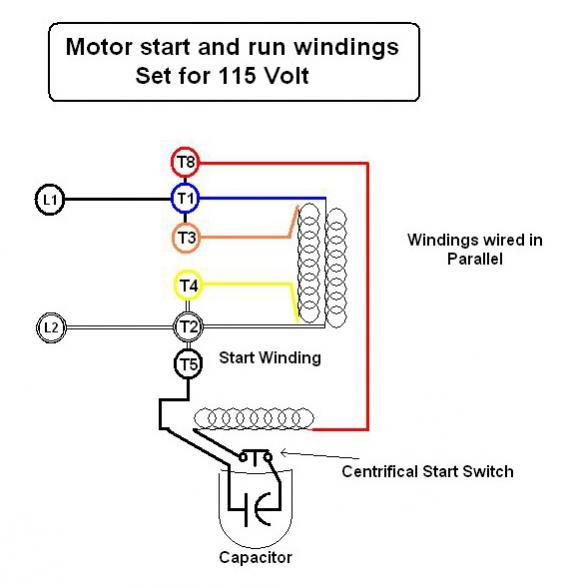 emerson electric motors wiring diagrams