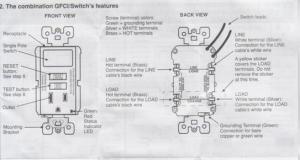 Wiring Leviton switchGFI outlet bo  DoItYourself Community Forums