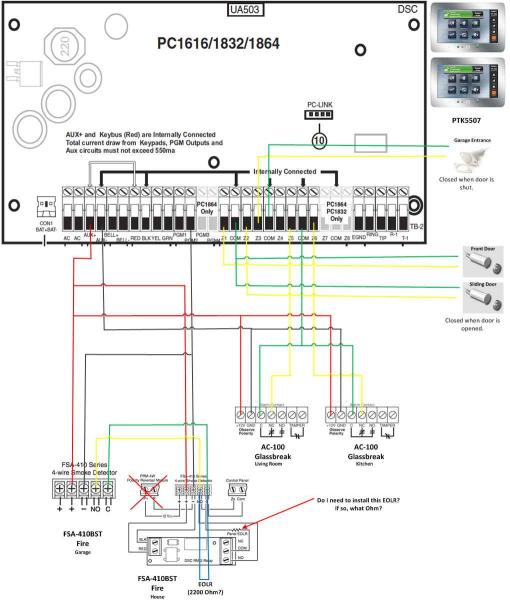 10882d1364674144 dsc pc 1616 wiring advice system?resize=510%2C600&ssl=1 4 wire smoke detector wiring diagram the best wiring diagram 2017  at crackthecode.co
