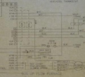 York Diamond 80 Gas Furnace  New Control Board & Old