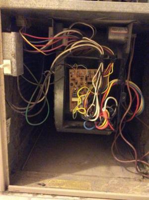 Rheem Criterion upflow gas furnace always tripped negative pressure switch?  DoItYourself