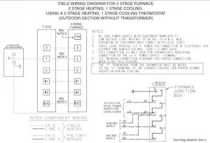 Trane XL80 furnace thermostat wiring questions