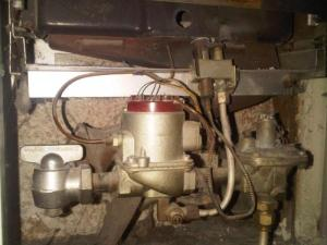 Wall heater gas valve replacement needed  DoItYourself