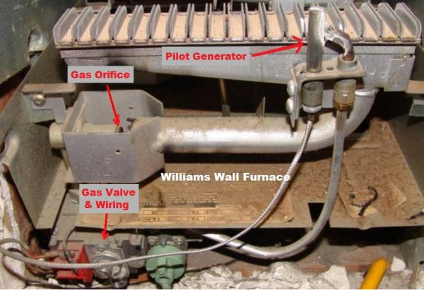 3509622 Wall Williams Furnace